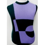 V-Neck Sleeveless Knitted Vest (5A)