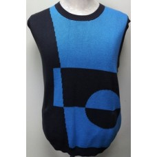 V-Neck Sleeveless Knitted Vest (5B)