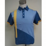 Diagonal Cut Polo Shirt (1A)