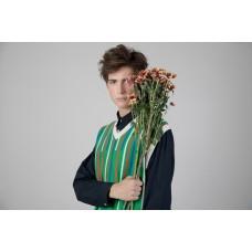 V-Neck S/S Knitted Vest (2B)
